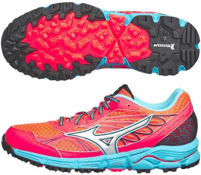 mizuno trail running mujer