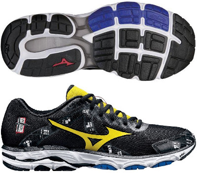 men's mizuno wave inspire 10 wide running shoes