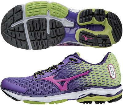 mizuno wave rider 18 review women's